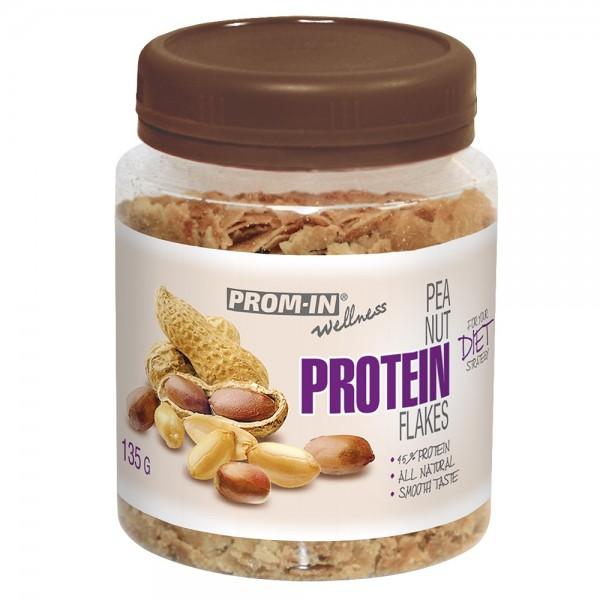 Arašidové proteínové vločky dóza 135g